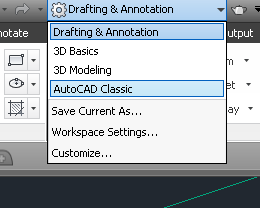 autocad-workspace