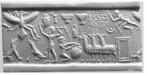 Etana király repülése Nibiru-hoz