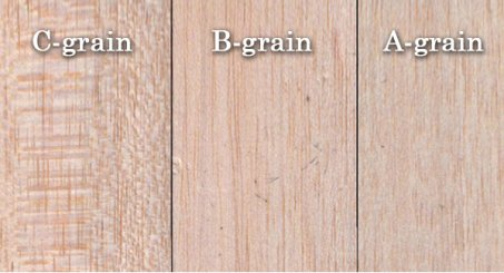 balsa-grain