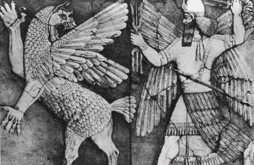 Marduk és Tiamat